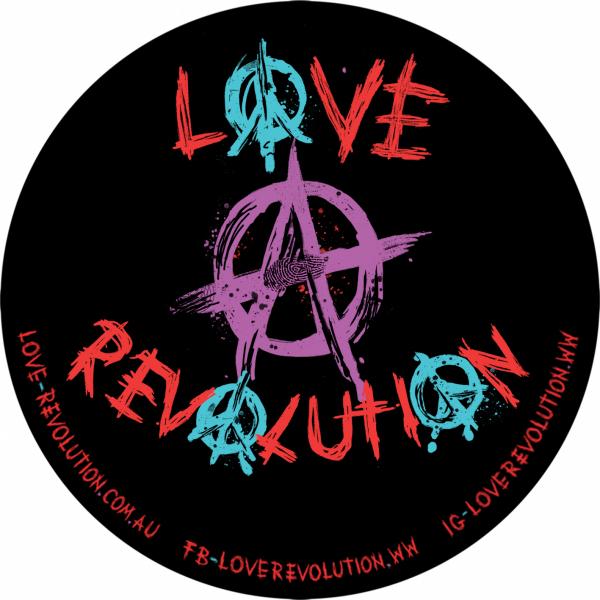 1-Love-revolution-Logo-Sticker